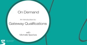 Introduction Gateway Qualifications Webinar
